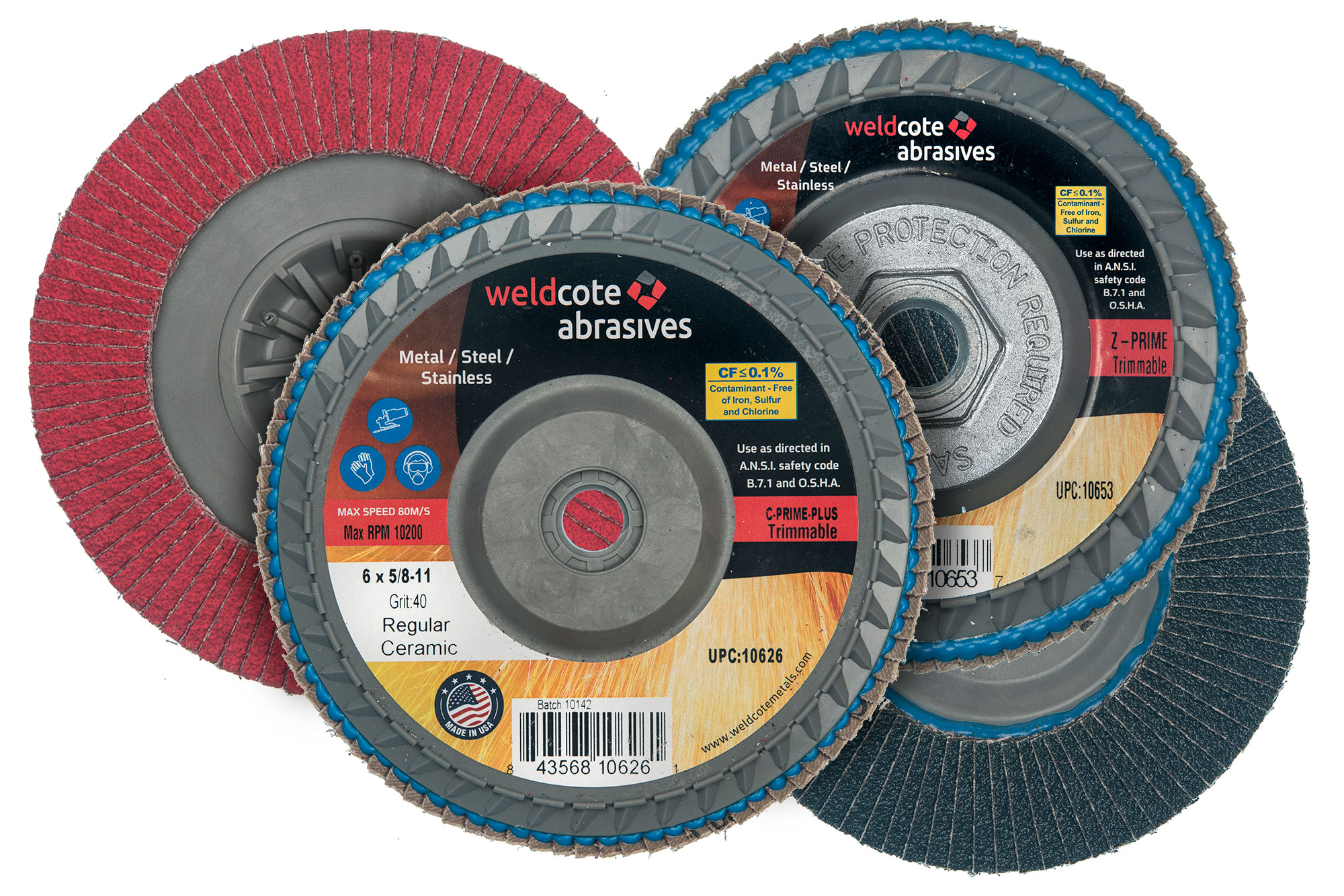 Trimmable Flap Discs