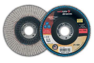 Weldcote Offers ALU-PRIME Line of Premium Aluminum Flap Discs