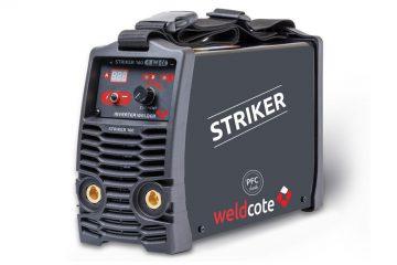Weldcote Introduces Striker 160 Welding Inverter for TIG and Stick Welding