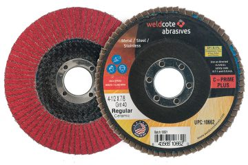Weldcote Announces C-PRIME and C-PRIME PLUS Line of Ceramic Flap Discs
